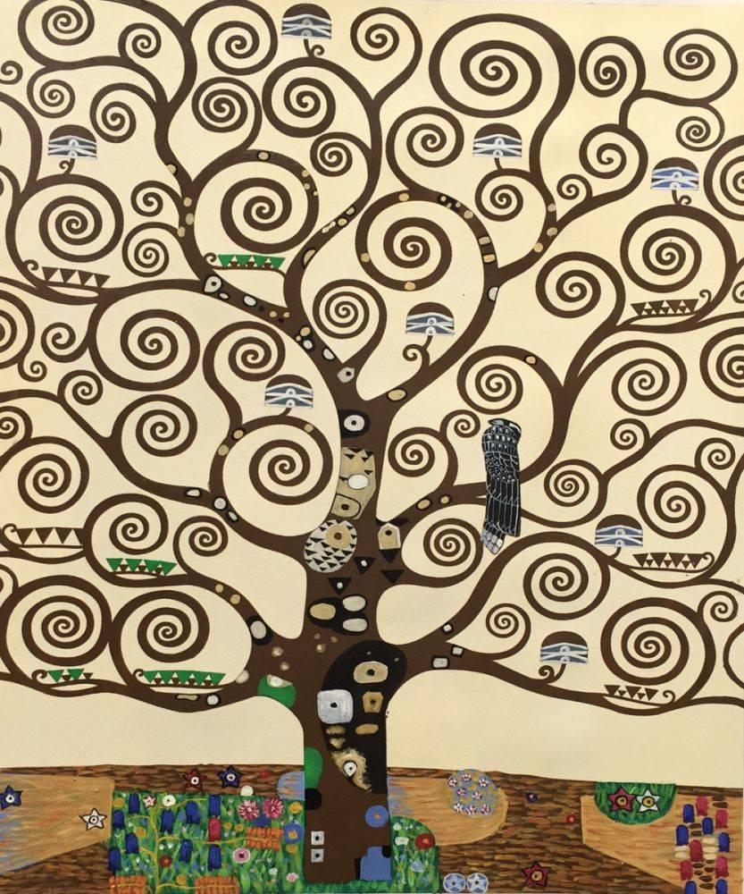 The tree of life - Klimt