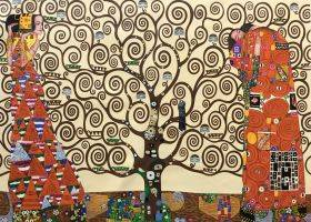 The Tree of Life, Stoclet Frieze, 1909