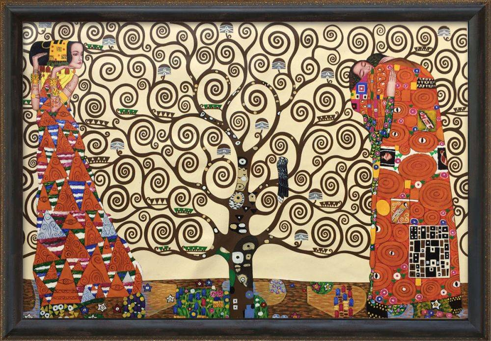 The Tree of Life, Stoclet Frieze, 1909 Pre-Framed