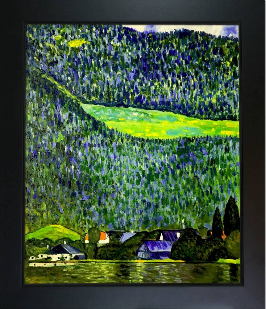 Unterach on Lake Atter,1915 Pre-Framed