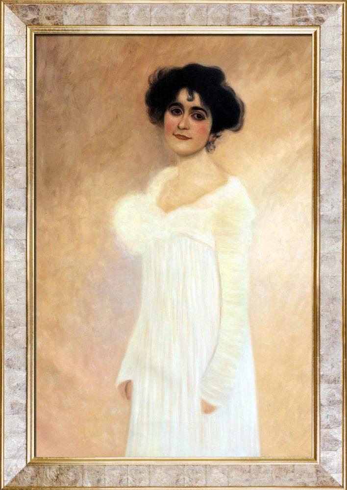Potrait of Serena Lederer Pre-Framed