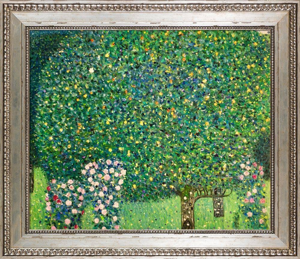 Roses Under the Trees Preframed