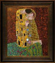The Kiss (Full View - Luxury Line) Pre-Framed