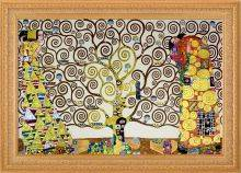 The Tree of Life, Stoclet Frieze (Luxury Line) Pre-Framed