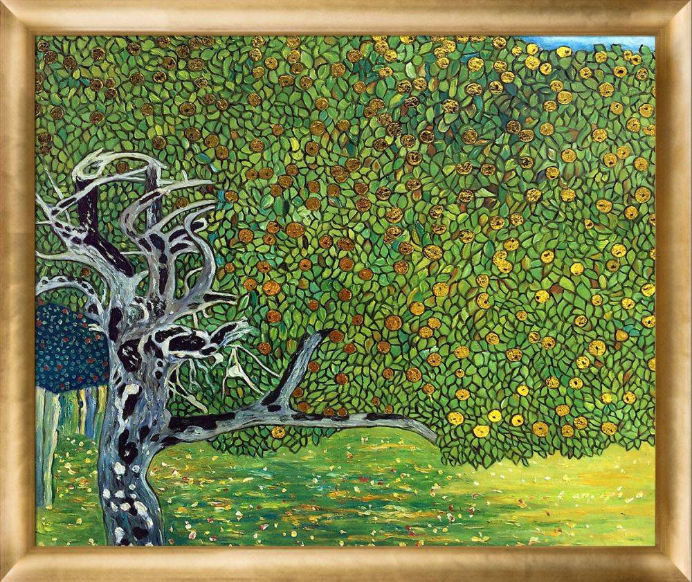 Golden Apple Tree (Luxury Line) Pre-Framed