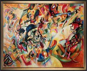 Composition VII, 1913 Pre-Framed