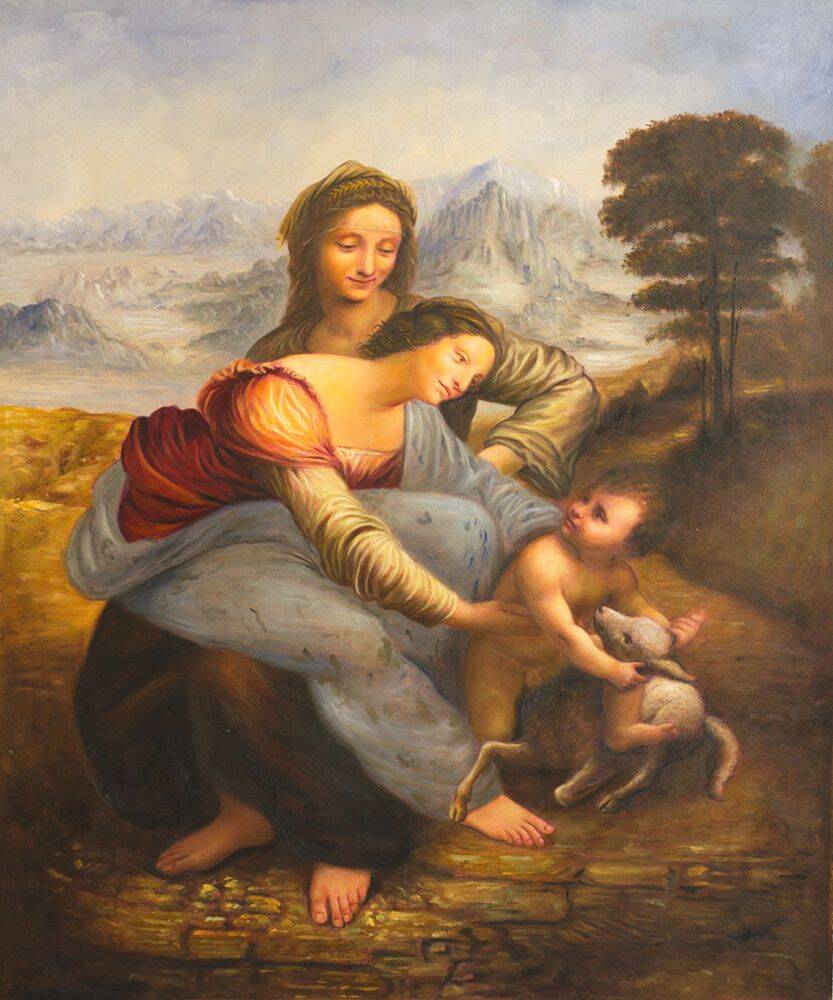 The Virgin and Child with St. Anne