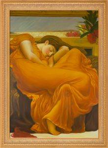 Flaming June Pre-Framed