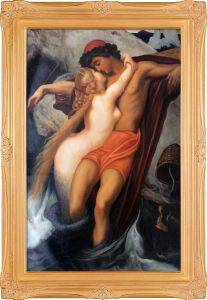 The Fisherman and the Syren Pre-Framed