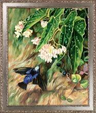 Brazilian Flowers Pre-Framed