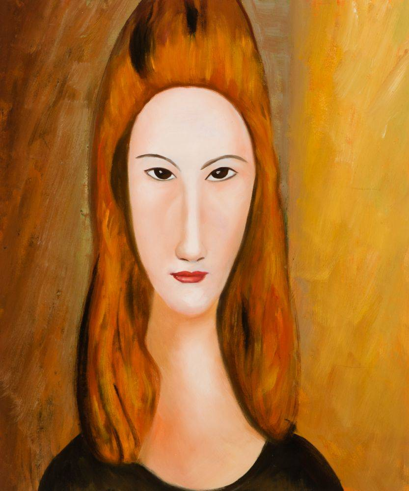Portrait of Jeanne Hebuterne
