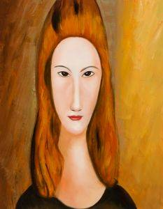 Portrait of Jeanne Hebuterne (Affordable Line)