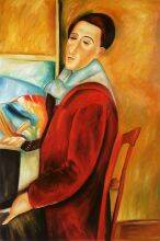 Modigliani, Self-Portrait