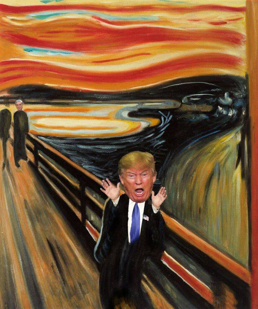 The Trump Scream