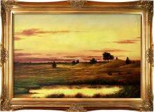 Sunset Rhode Island Pre-Framed