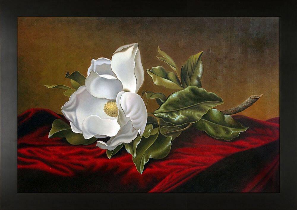 Magnolia Grandiflora, 1895 Pre-Framed