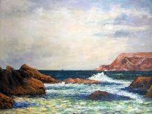 Belle-Ile-en-Mer, Evening, Cote Sauvage