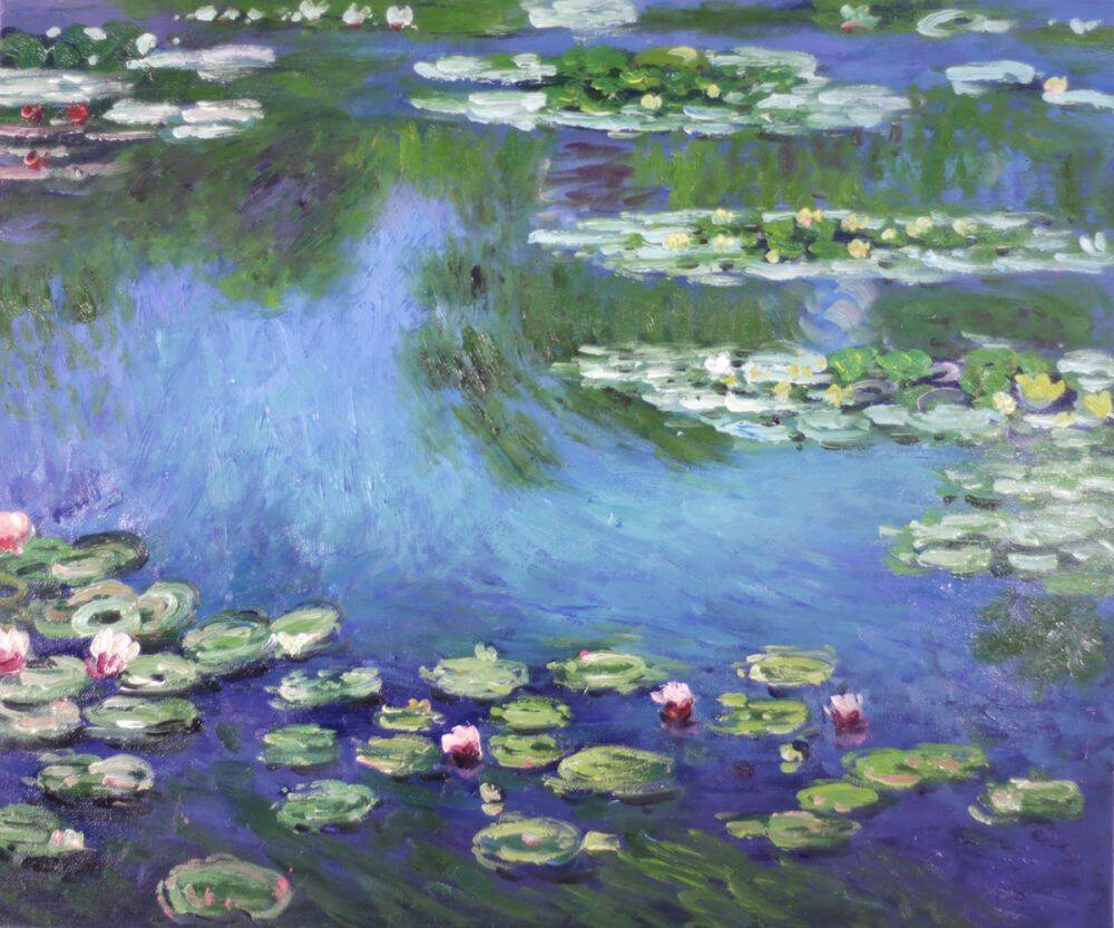 Image result for claude monet water lilies