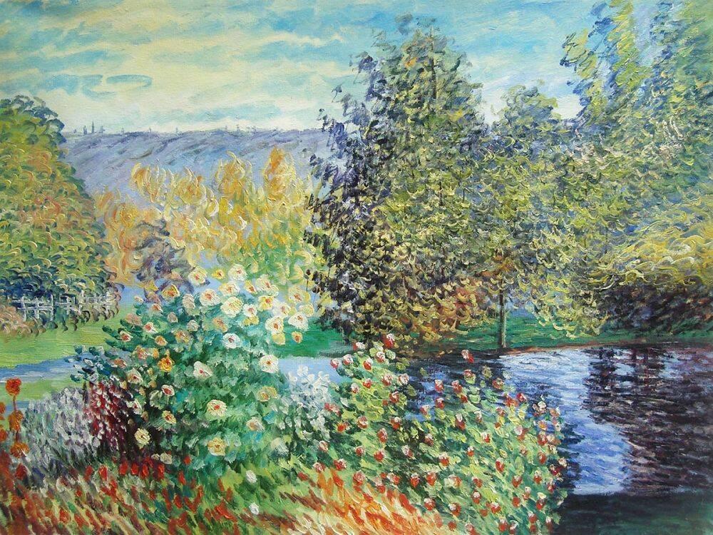 Corner of the Garden at Montgeron