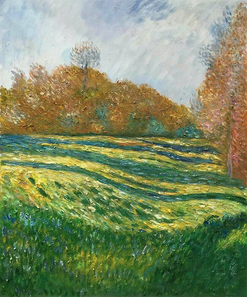 Meadow at Giverny, 1886