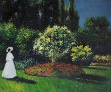 Jeanne-Marguerite Lecadre (Lady in a Garden)
