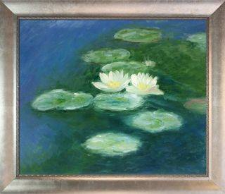 Water Lilies, Evening Pre-Framed