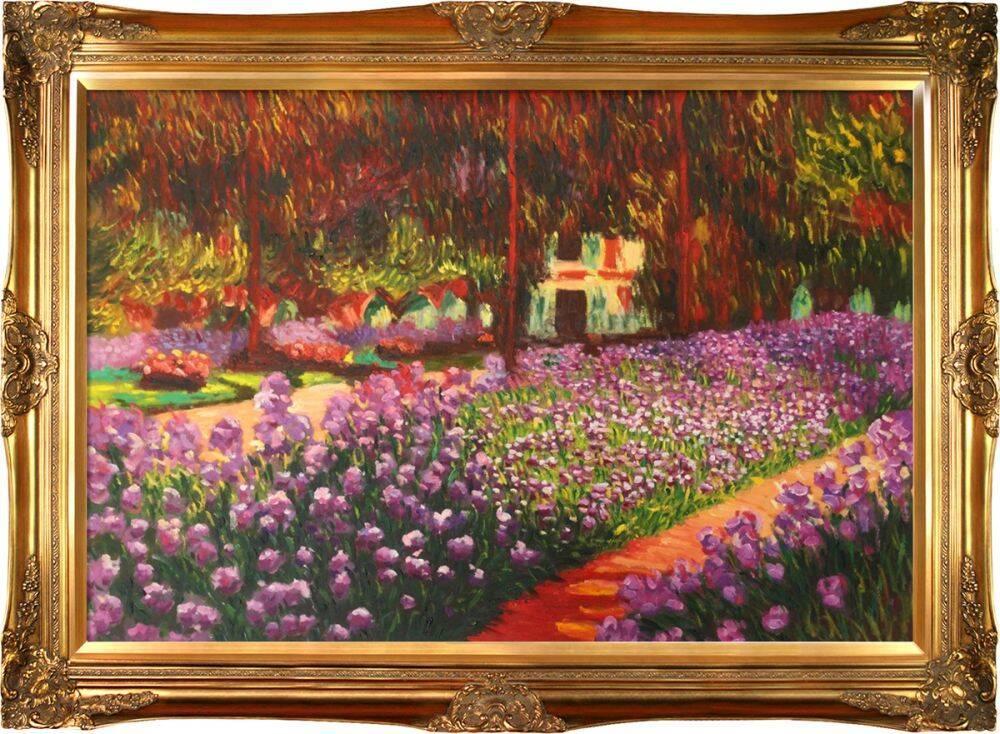 Artist's Garden at Giverny Pre-Framed