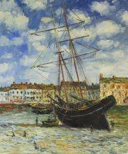 Boat at Low Tide, FeCamp 1881