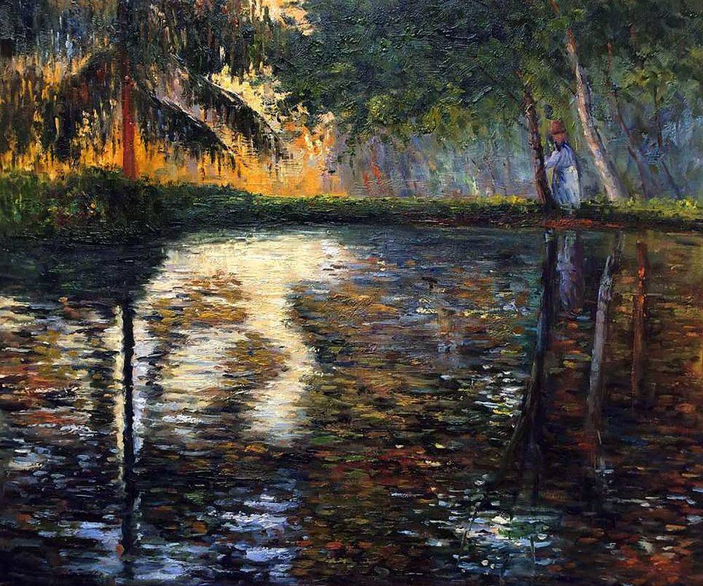 The Pond at Montgeron, 1876