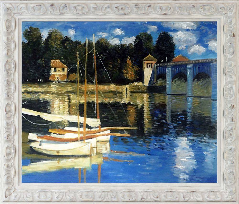 The Road Bridge at Argenteuil Pre-Framed