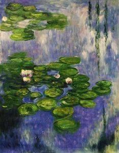 Water Lilies (vertical)