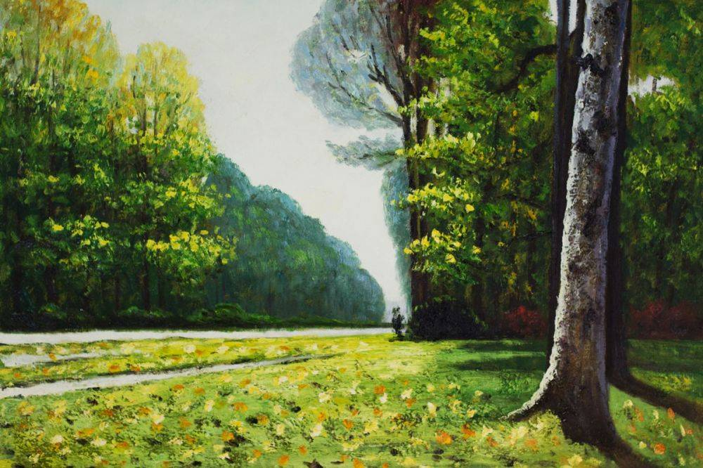 The Road to Bas-Breau, Fontainebleau
