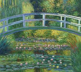 White Water Lilies and The Japanese Bridge, 1899
