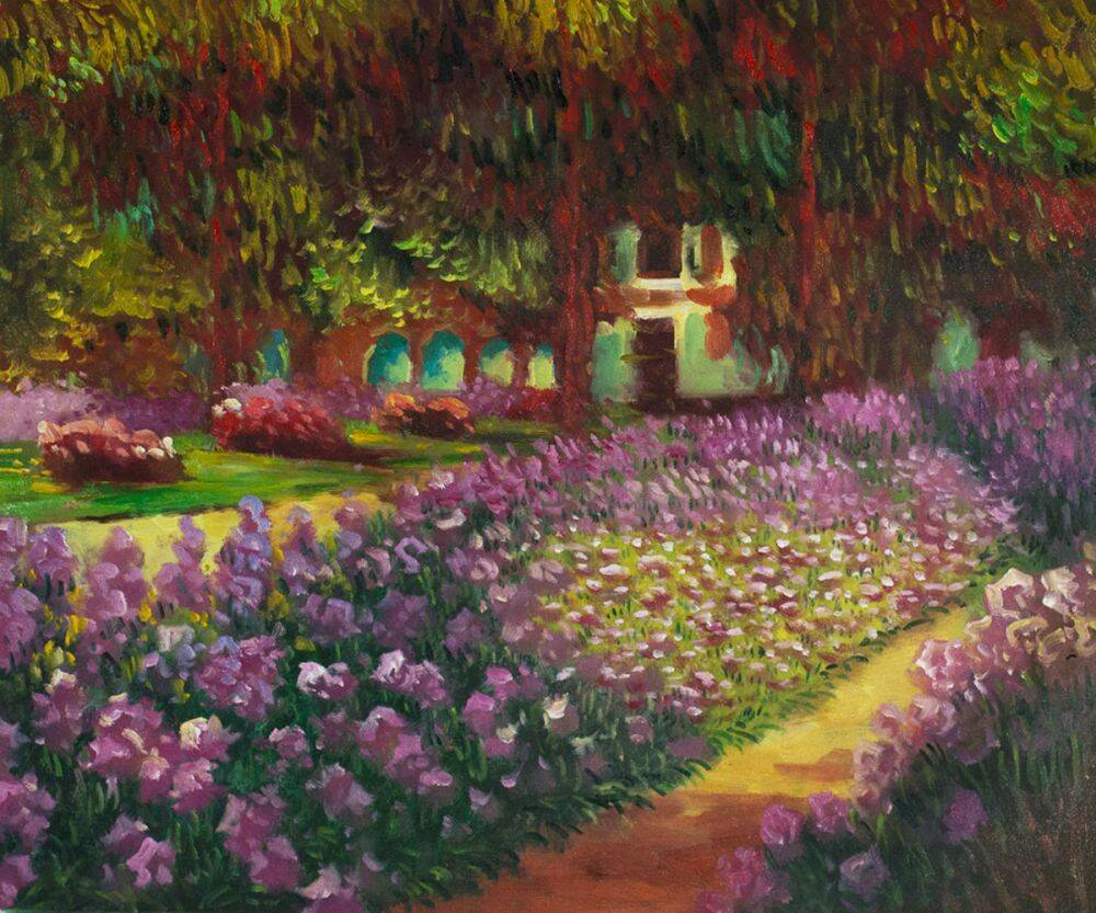Artist's Garden at Giverny (Affordable Line)