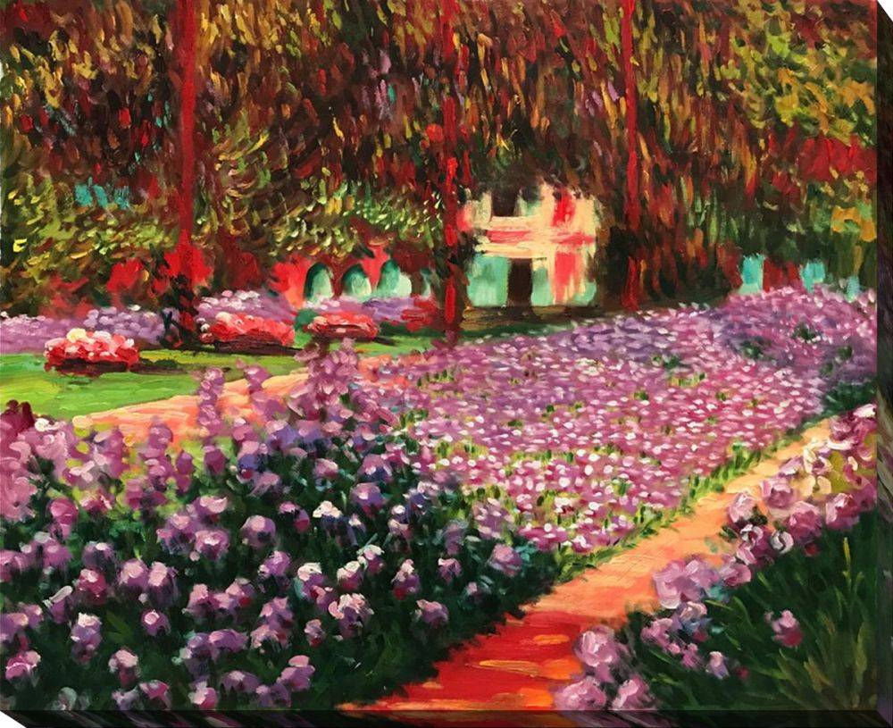 Artist's Garden at Giverny Gallery Wrap