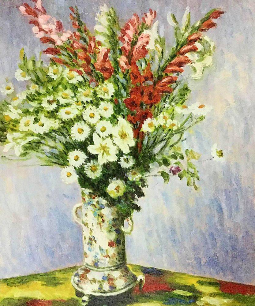 Bouquet of Gadiolas, Lilies and Dasies