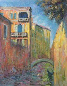 Venice, Rio della Salute