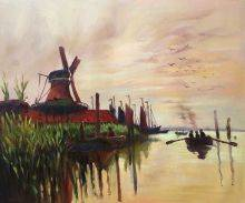 Windmill at Zaandam
