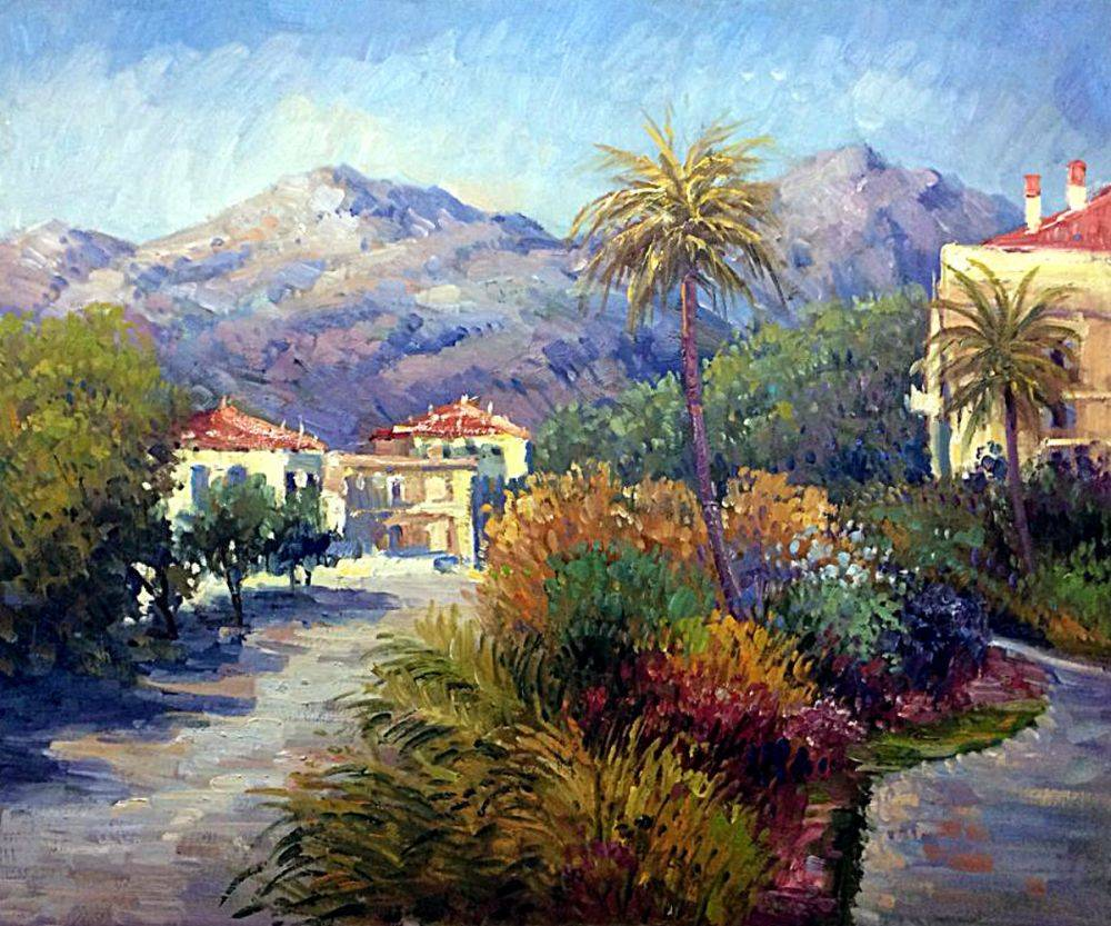 Strada Romada in Bordighera