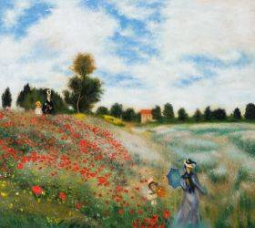 Poppy Field in Argenteuil (Affordable Line)