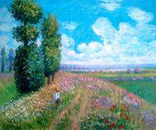 Field with Poplars