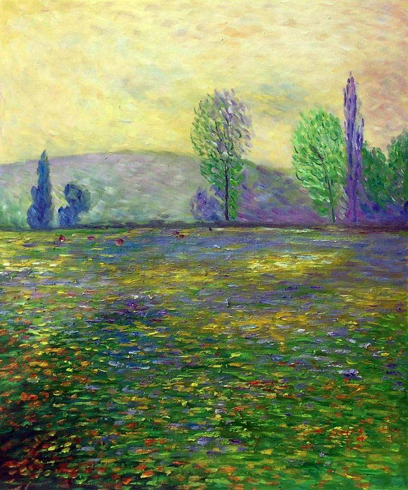 Meadows in Giverny, 1888