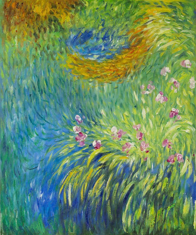 Irises 3, 1914-1917