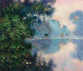 Morning on the Seine Near Giverny