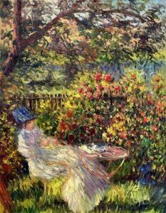 Alice Hoschede Au Jardin