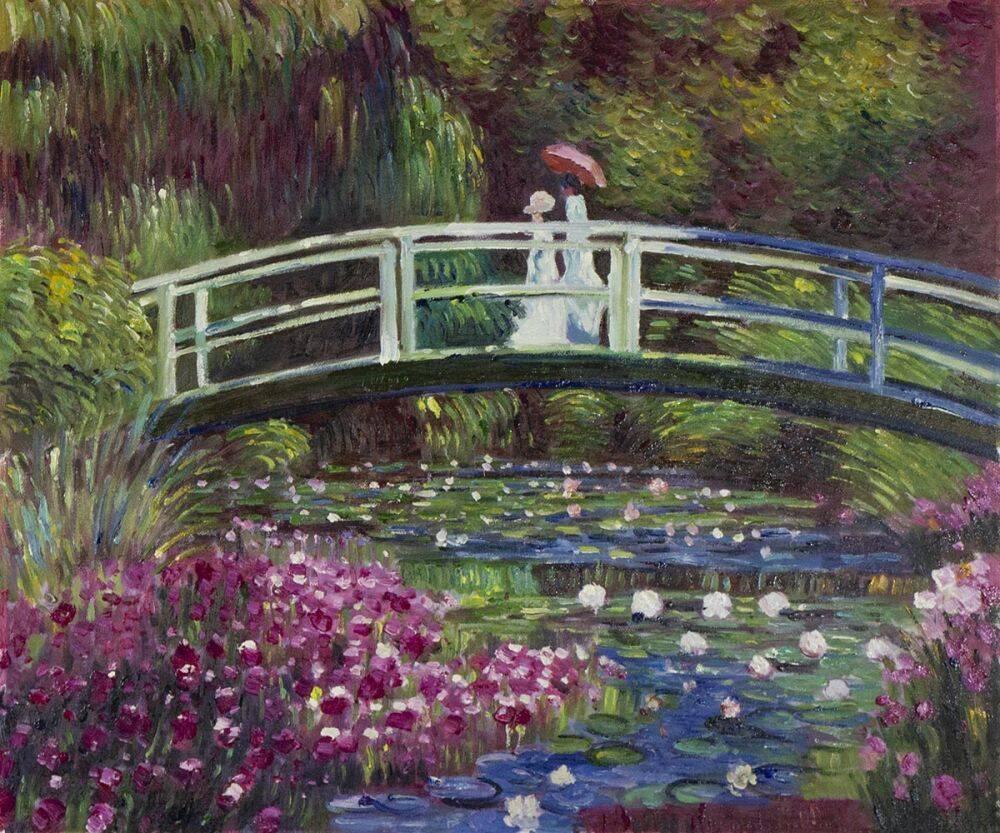Japanese Bridge in the Artist's Garden