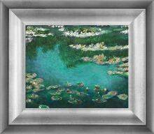 Water Lilies (Luxury Line) Pre-Framed