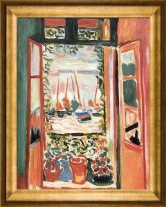 Open Window Collioure Pre-Framed