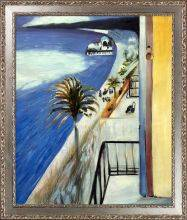 The Bay of Nice, 1918 Pre-Framed