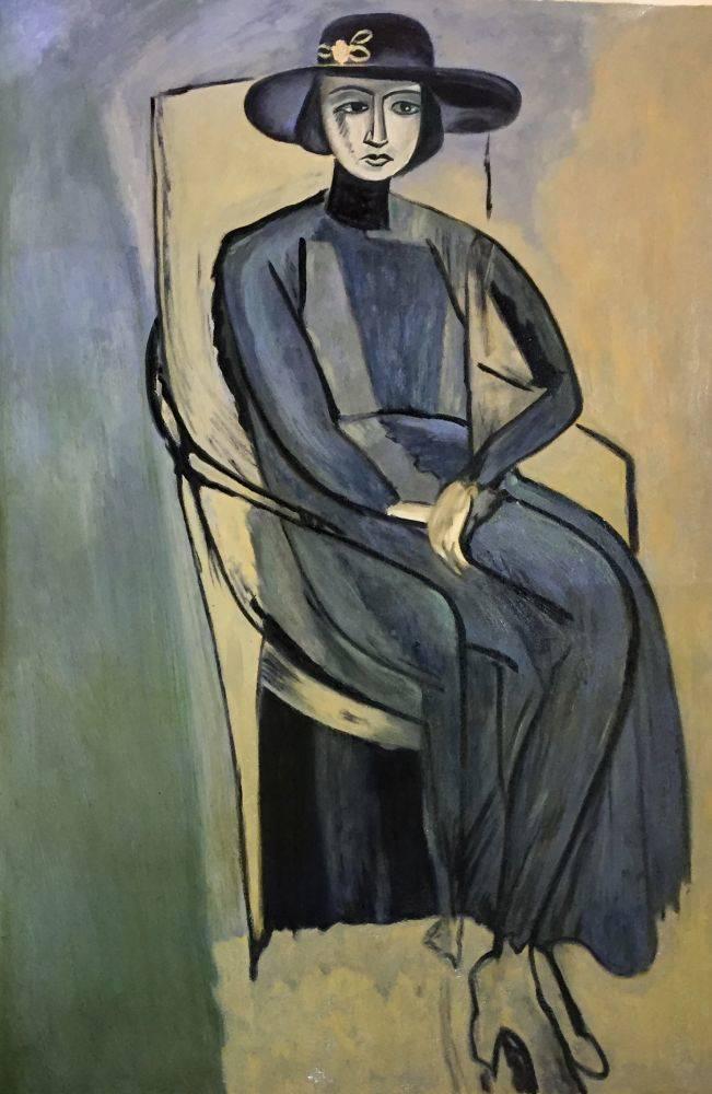 Portrait Of Greta Prozor